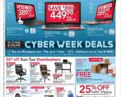 Depot/Max Cyber Monday