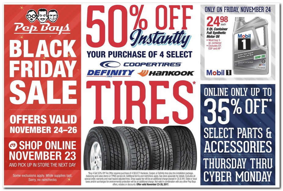 Pep Boys Black Friday