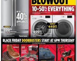 Sears Black Friday Ad 2017