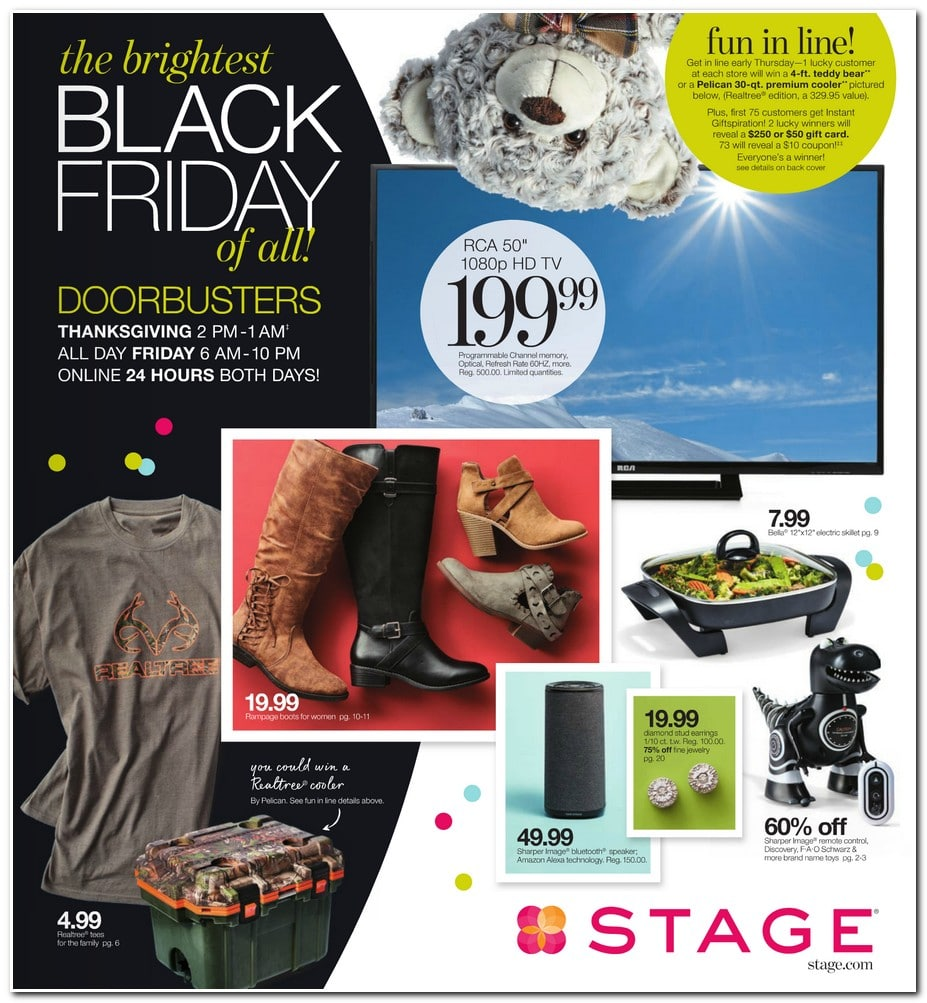 Stage Black Friday 2017