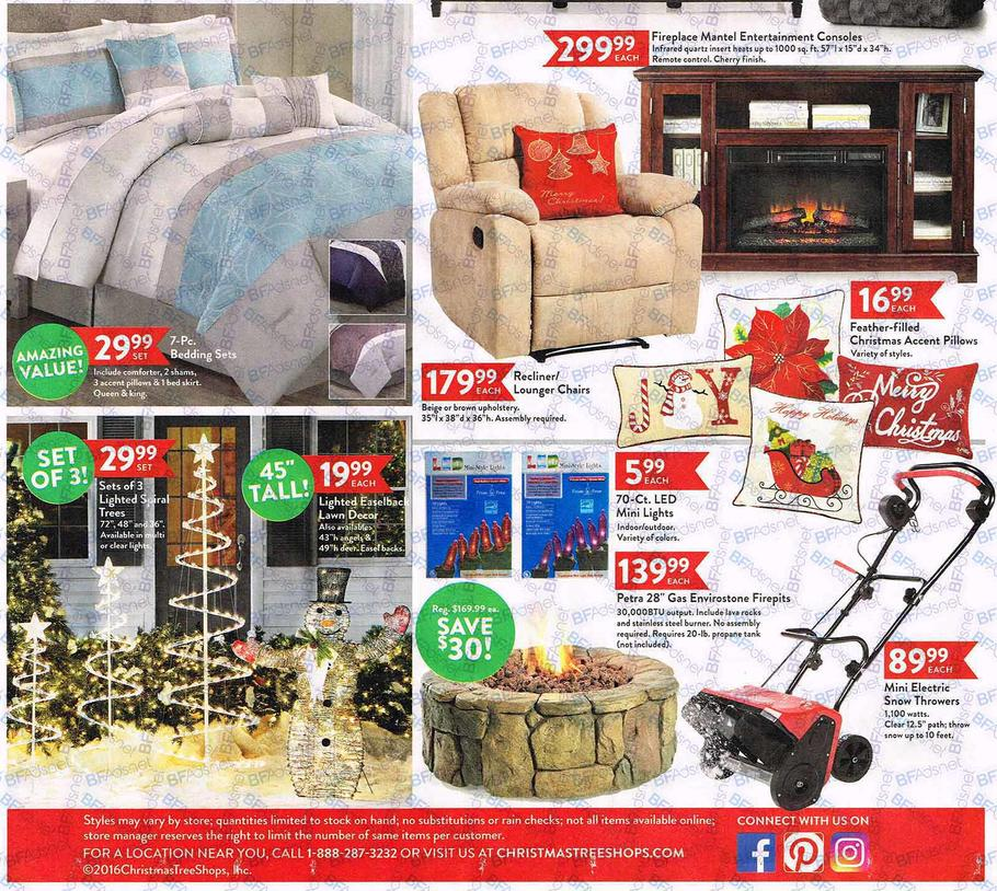 Christmas Tree Shops Black Friday Ad 2016