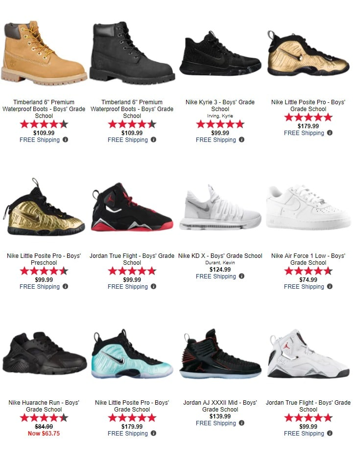 0a9a1f4ed338fe Footlocker Black Friday 2017 Ad