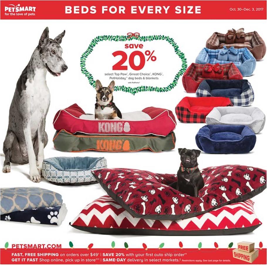 PetSmart Holiday Book Ad 2017