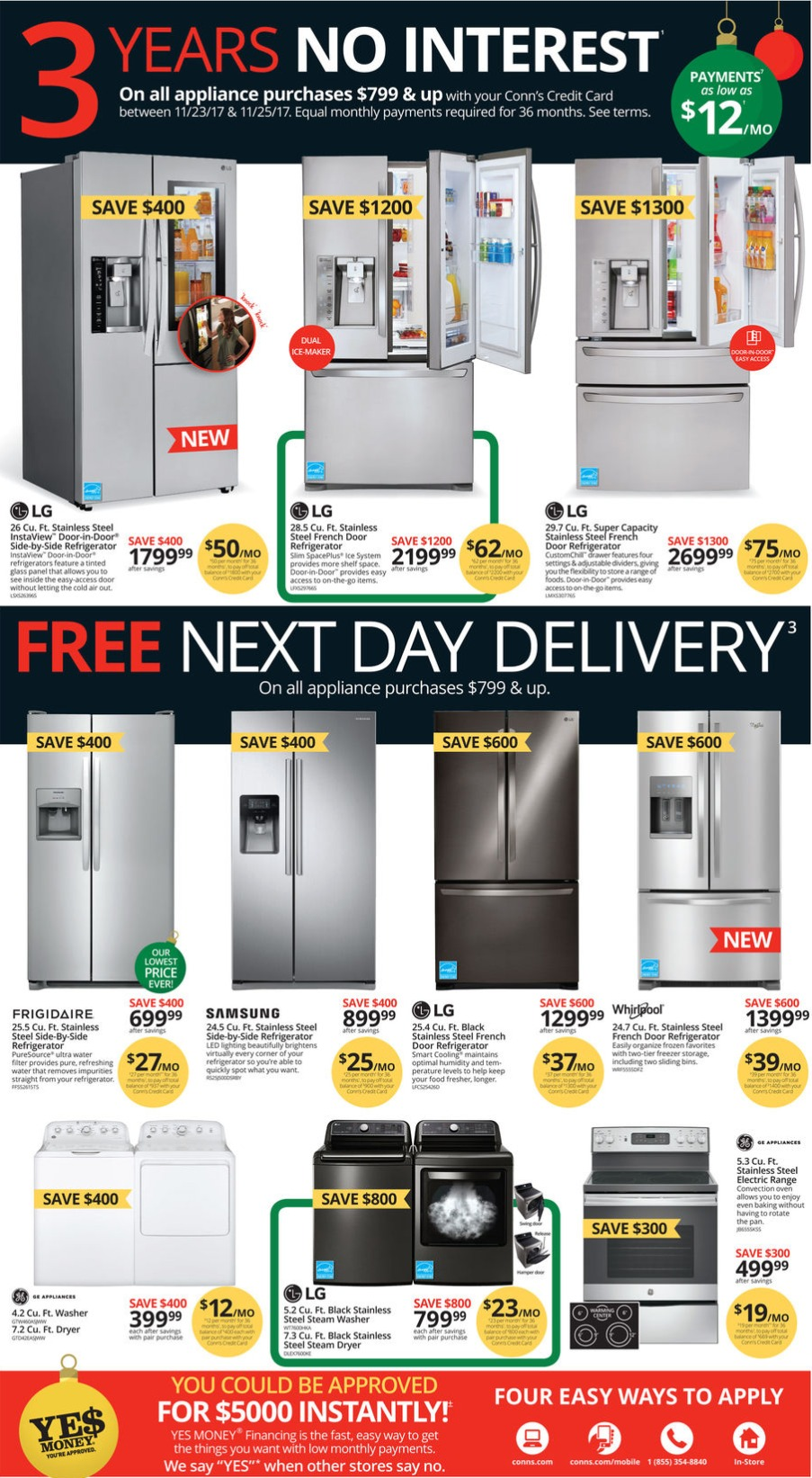 Conn S Black Friday Ad 2017