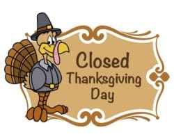 List of Stores Closed on Thanksgiving Day 2017