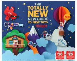 Meijer Holiday Toy Catalog 2018