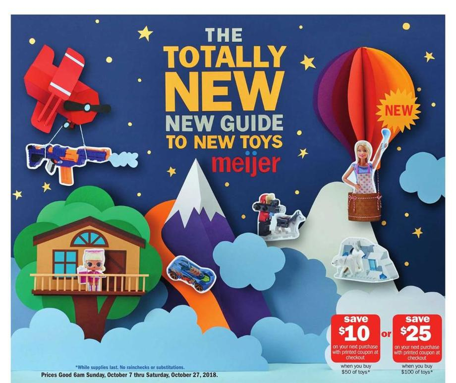 Meijer Holiday Catalog Deals