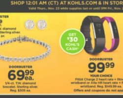 Top 5 Kohl's Black Friday 2017 Deals