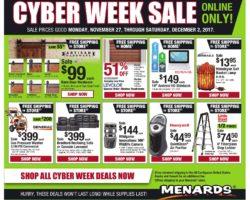 Menards Cyber Deals