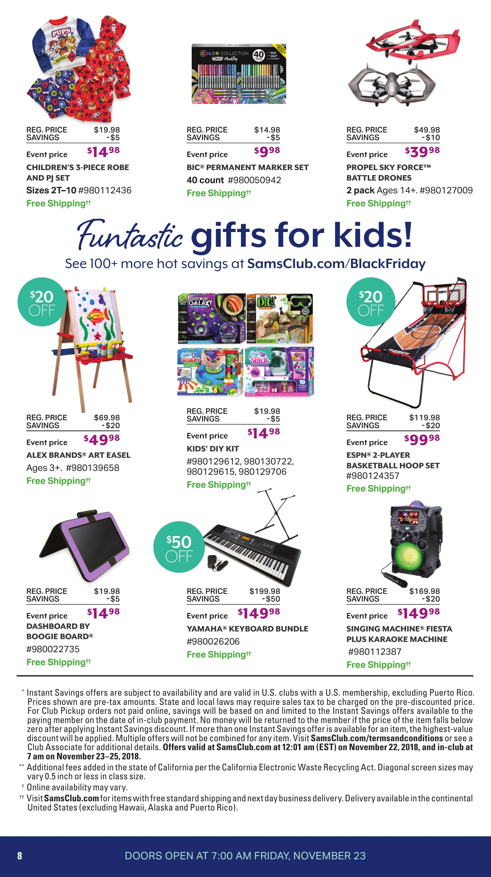Sam S Club Black Friday Ad 2018