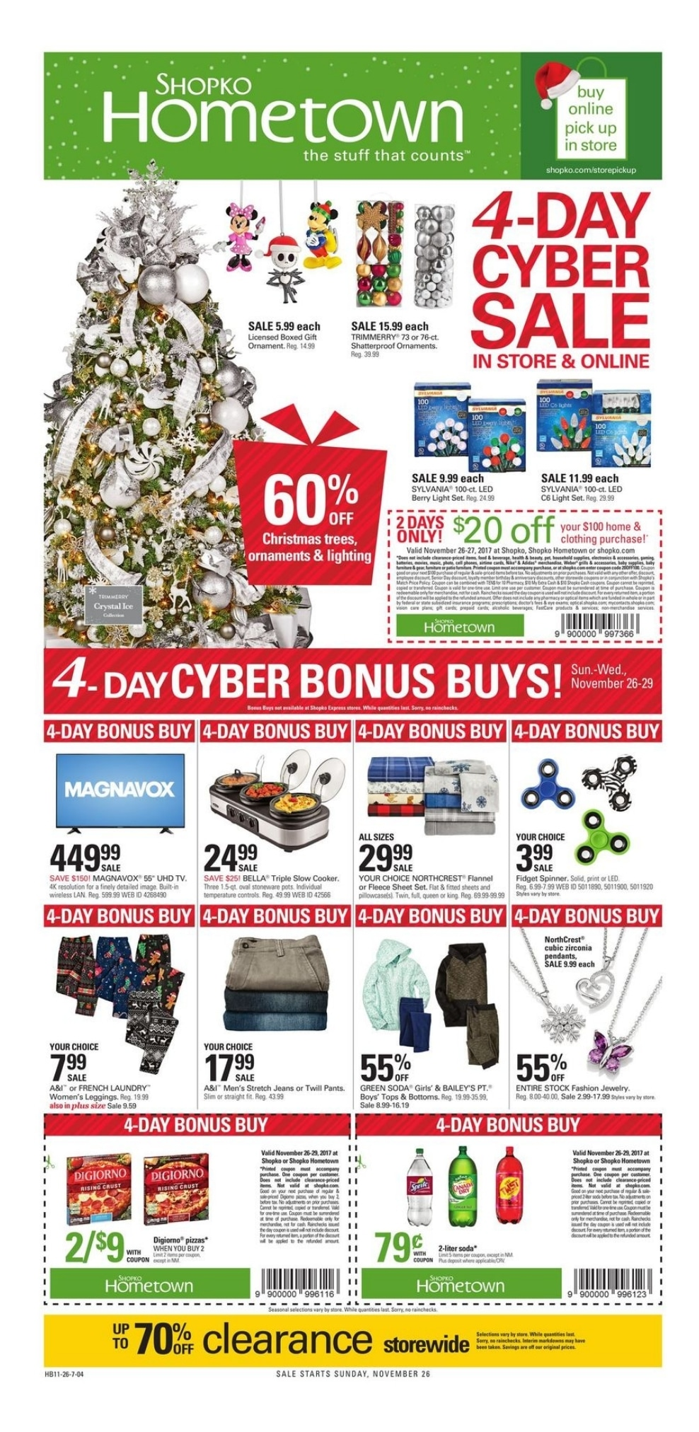 Shopko Cyber Deals