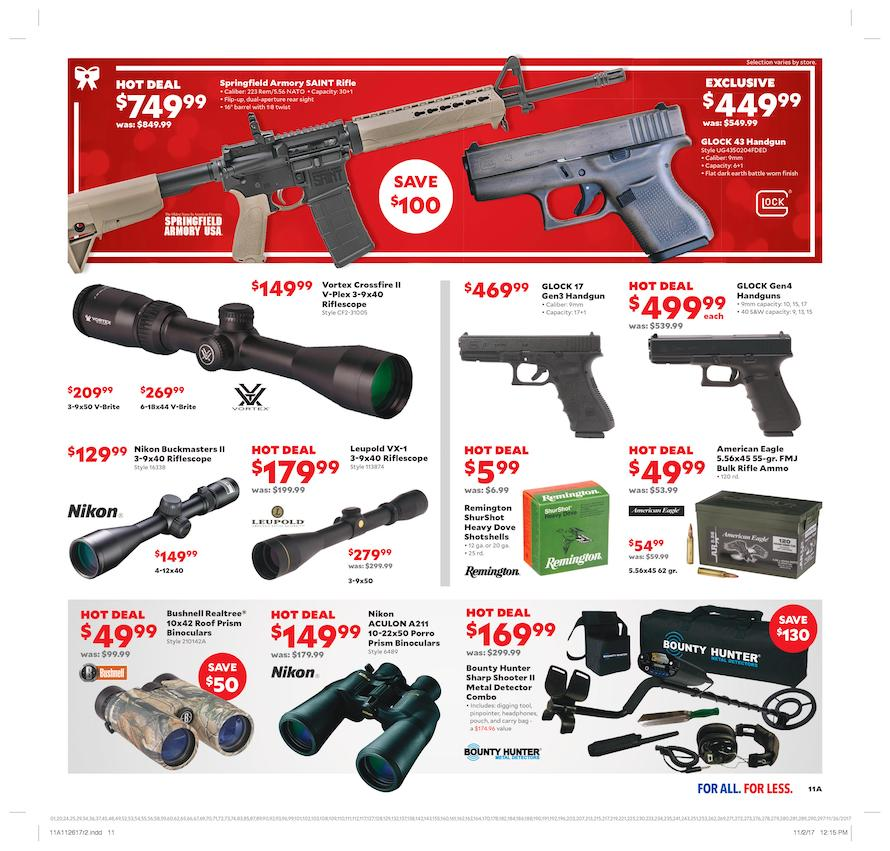 Academy Sports Cyber Monday 2017 Ad