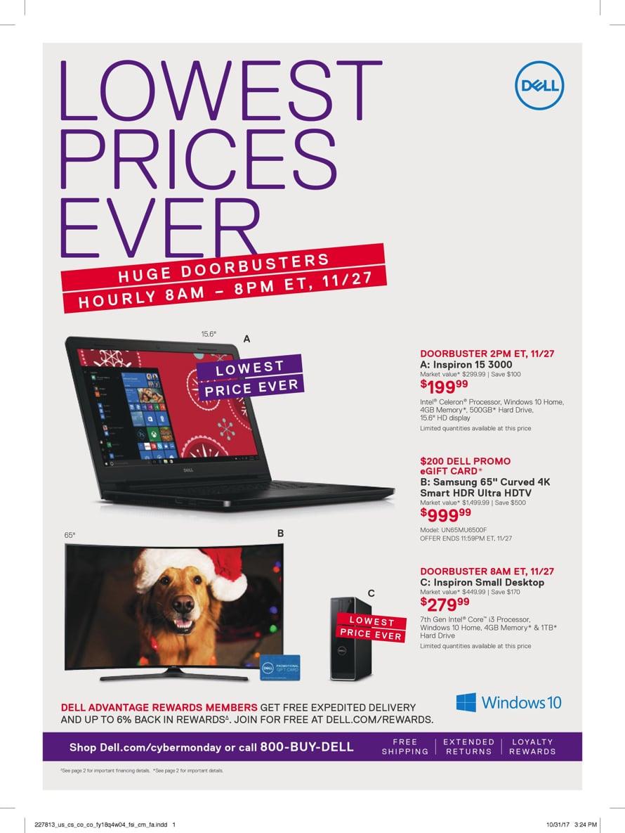 Dell Cyber Deals