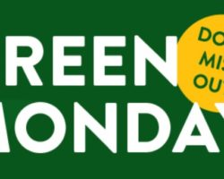 Green Monday 2017 sale