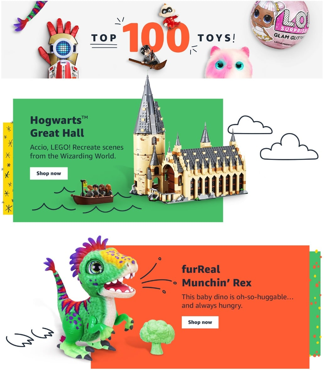 Amazon Toy List 2018