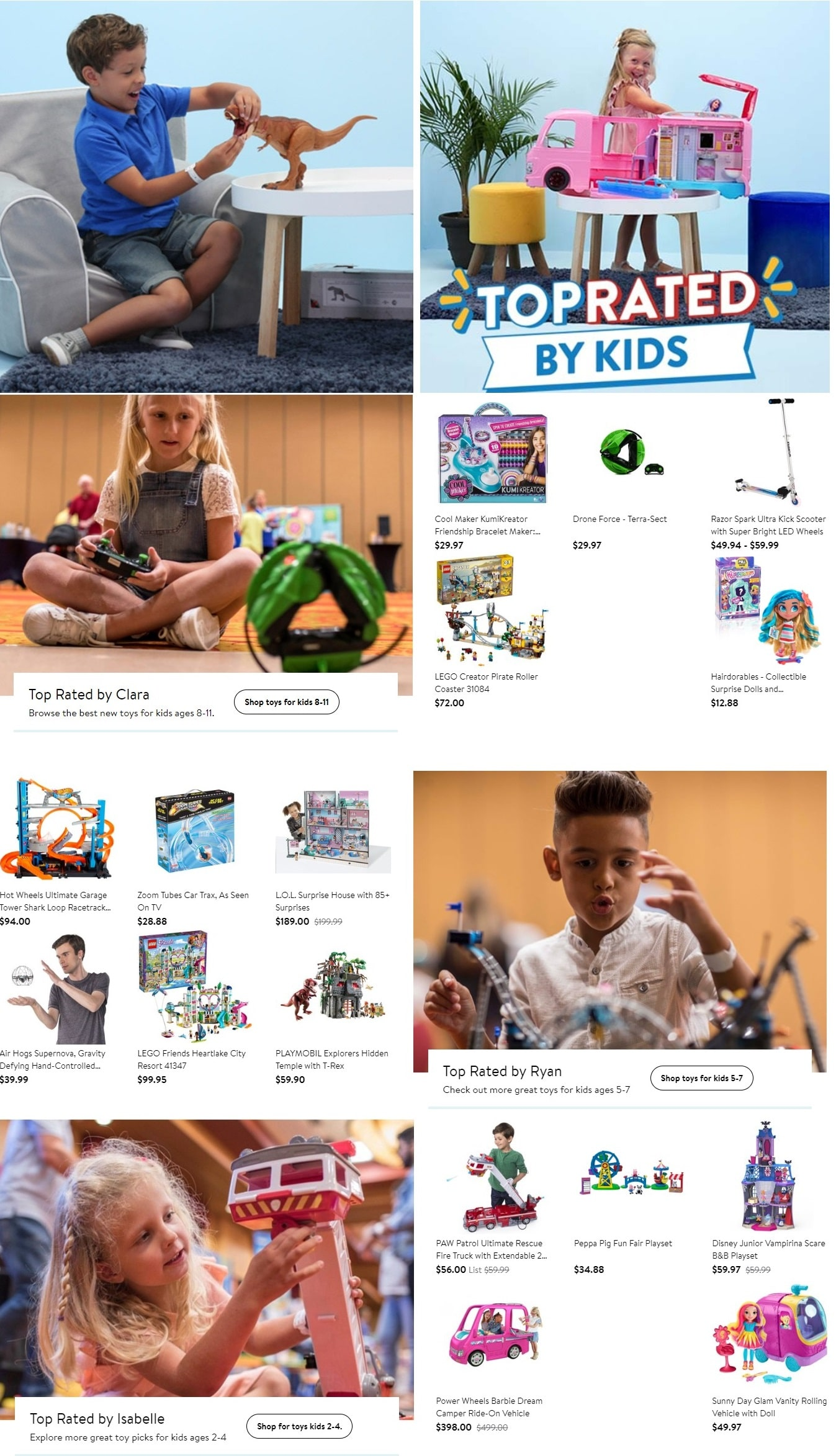 Walmart Toy List 2018