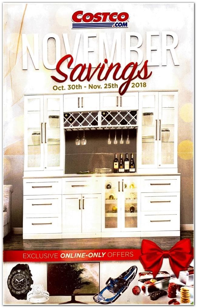 Costco November Coupon Book