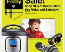 Target Pre Black Friday Sale