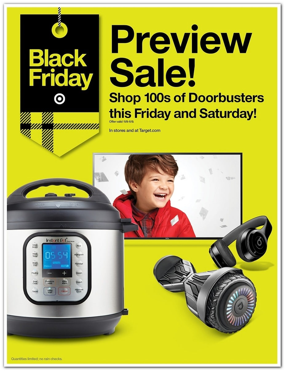 Target Pre Black Friday Sale