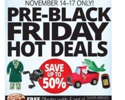 Cabelas Pre Black Friday Deals
