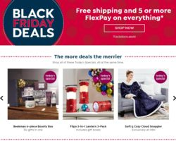 HSN Black Friday 2018