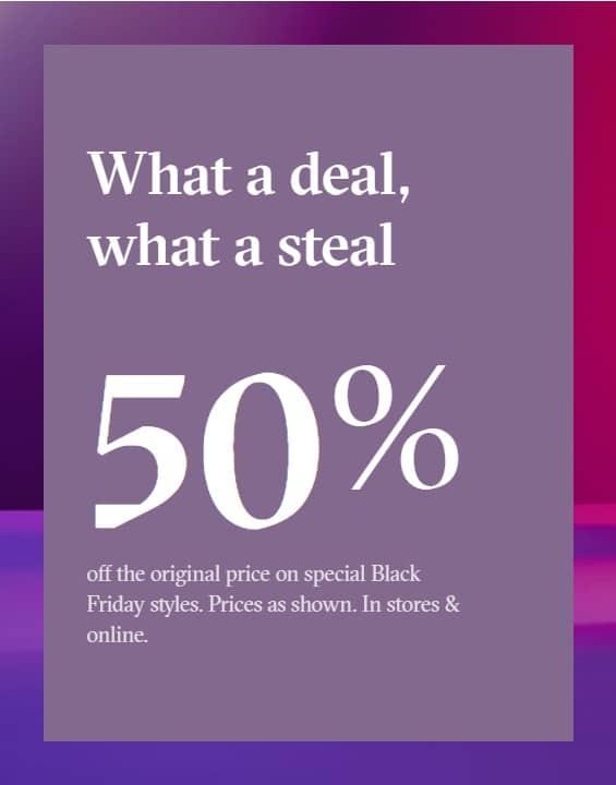 Aldo Black Friday Ad 2018