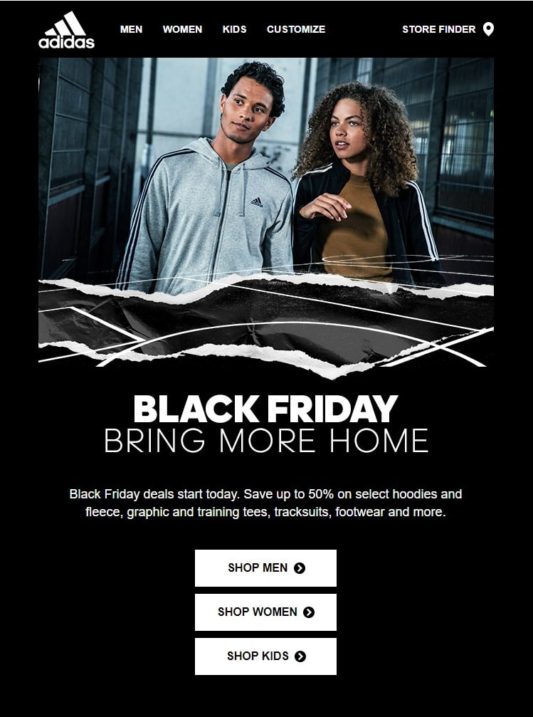 Adidas Black Friday Ad 2018
