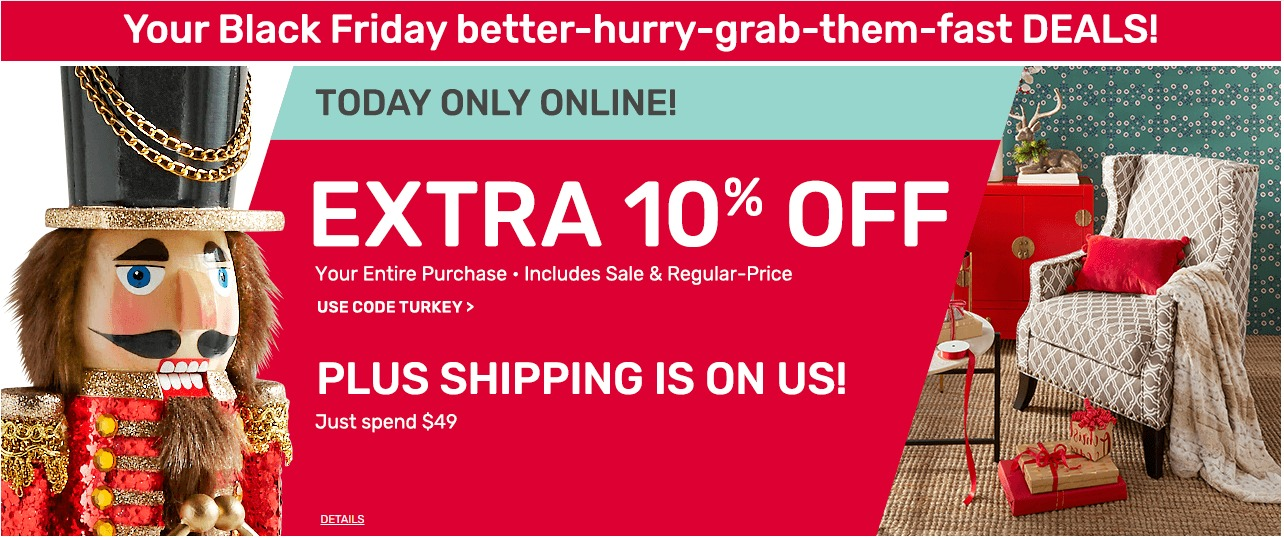 Pier 1 Imports Black Friday Ad 2018