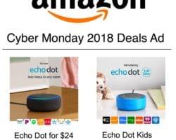Amazon Cyber Monday 2018 deals