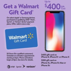 Walmart iPhone Deal