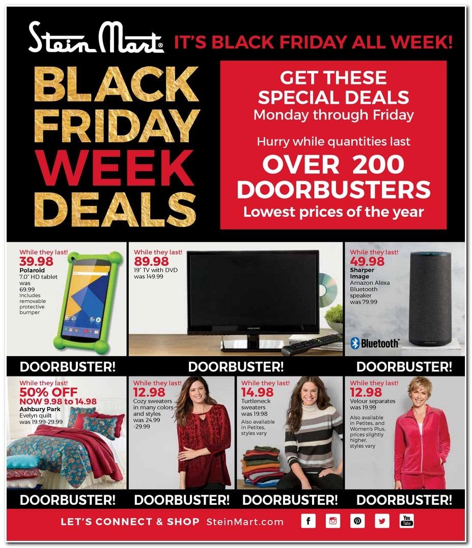 2997c5154ec Stein Mart Black Friday Ad 2017