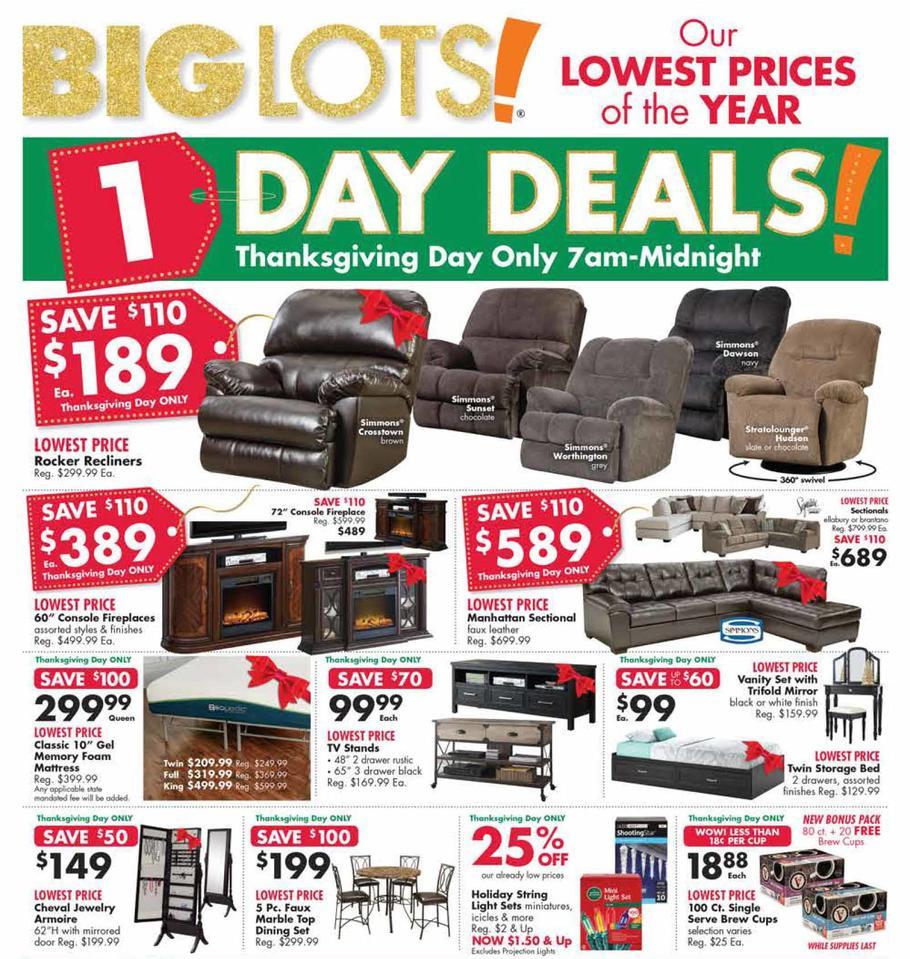 the latest dfd4e 58b25 Big Lots Black Friday Ad 2018
