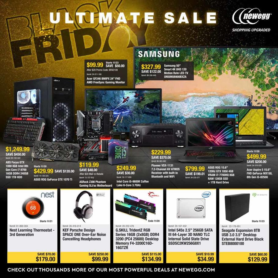 Newegg Black Friday Ad 2018