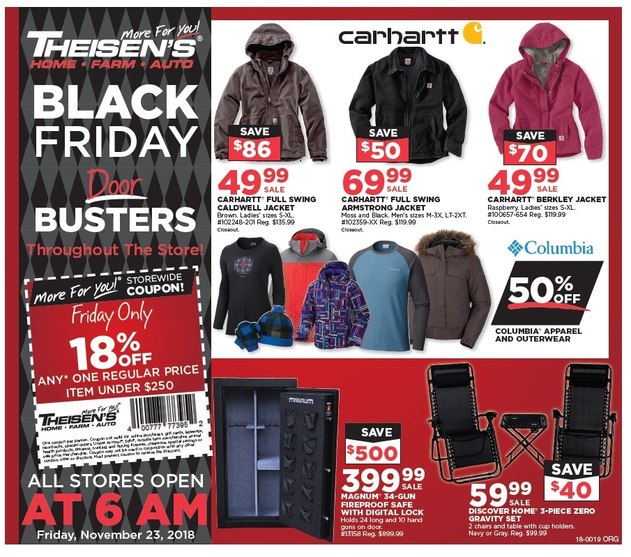 Theisen's Black Friday