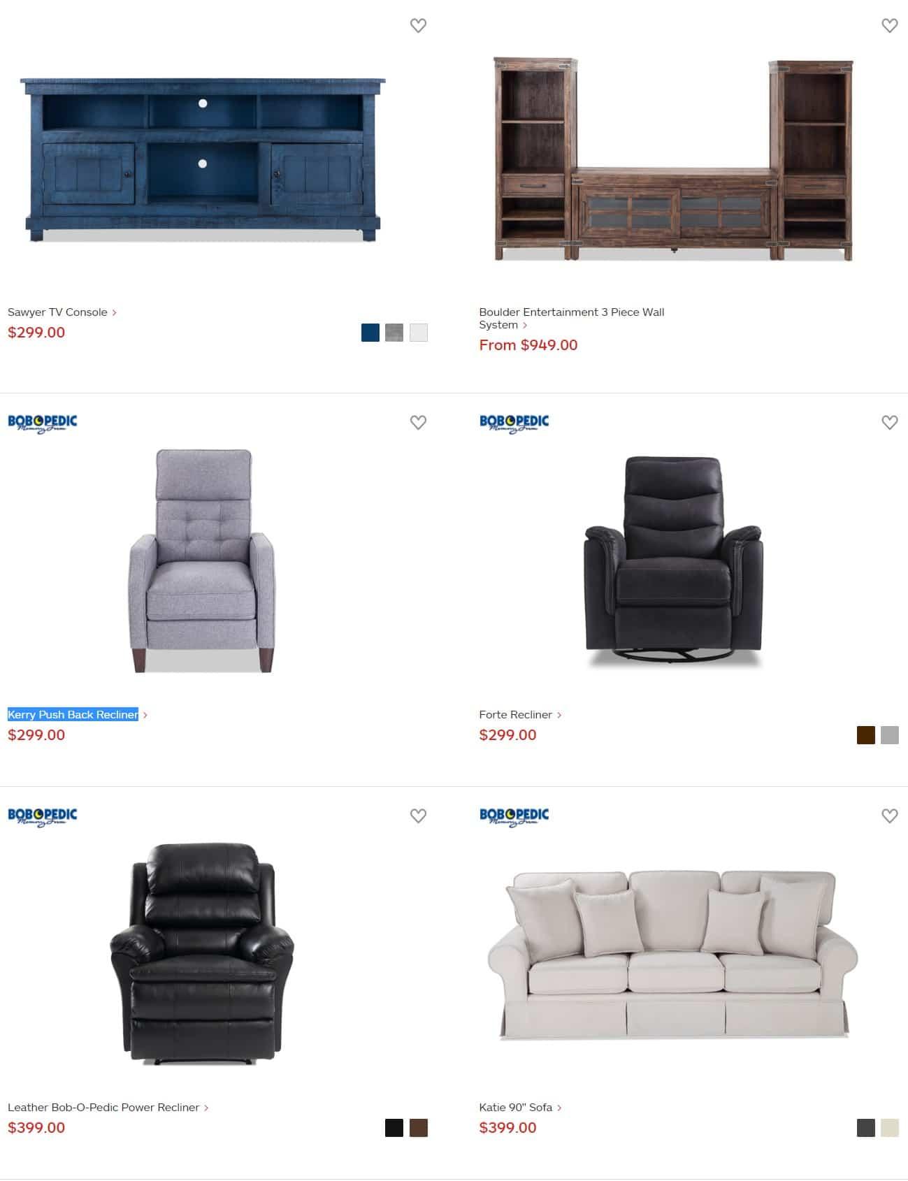 Bob S Discount Furniture Black Friday Ad 2018