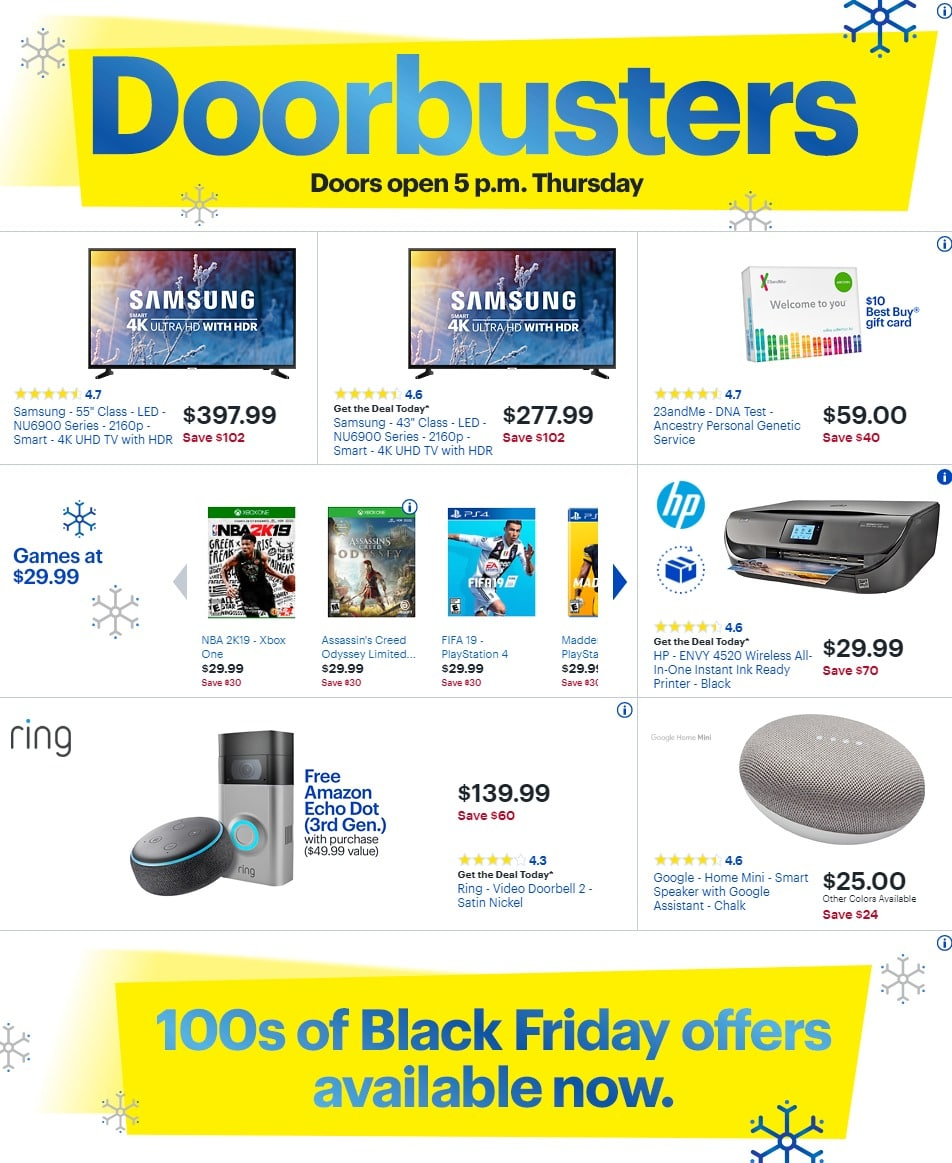 Best Buy Black Friday Ad 2018