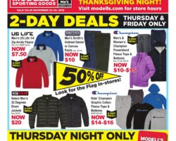 competitive price 71955 12188 Modell's Sporting Goods Black Friday 2019