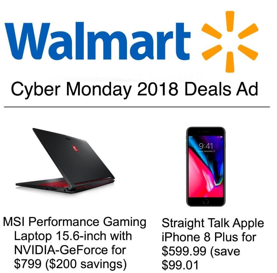 Walmart Cyber Monday Ad