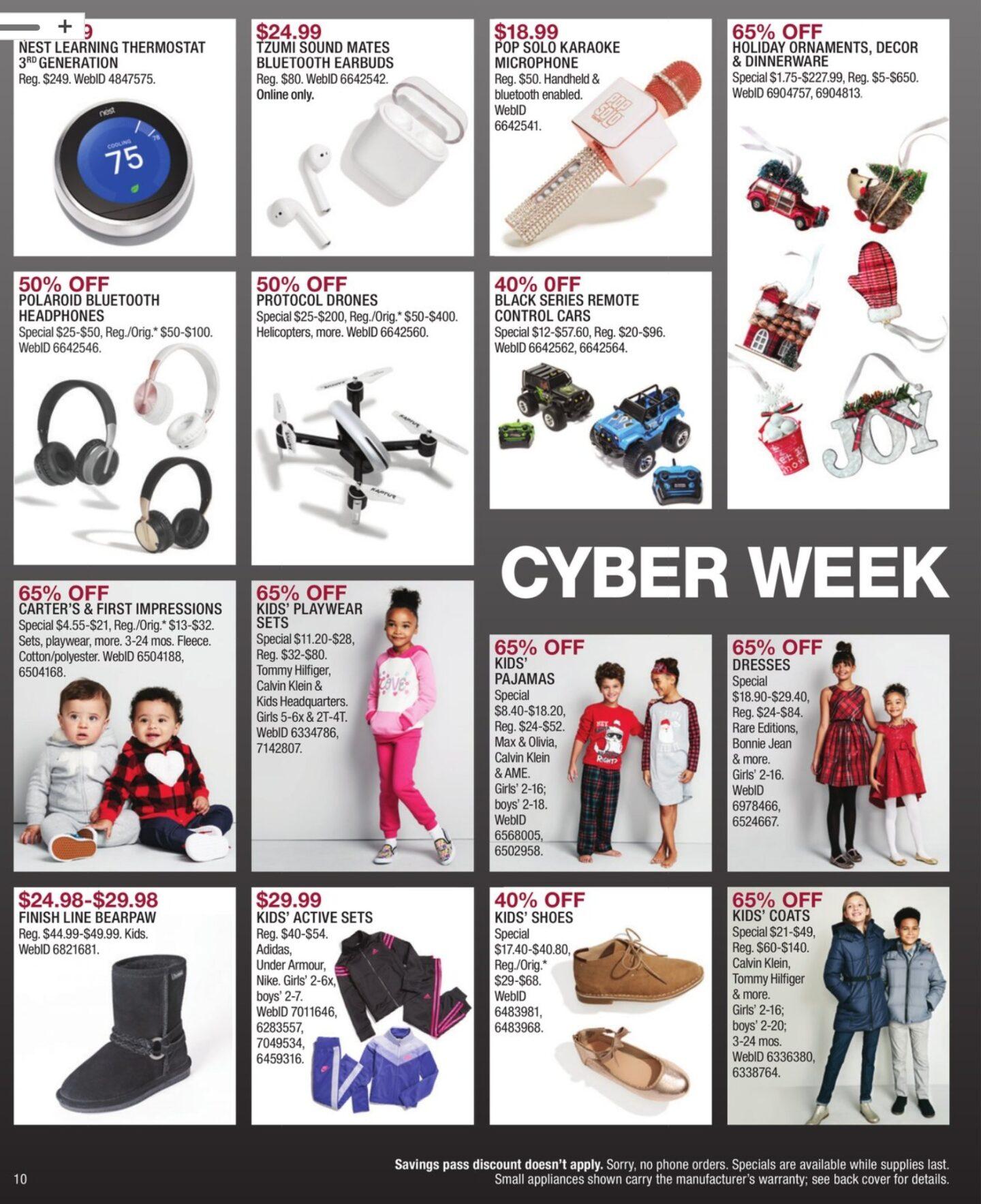 Macy's Cyber Monday Ad 2018