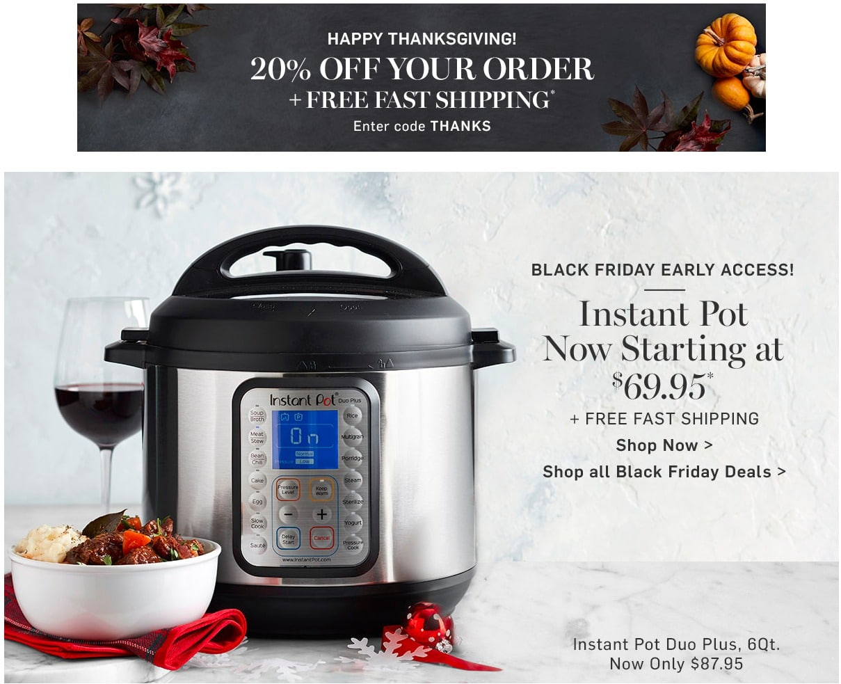 Williams Sonoma Black Friday Ad 2018