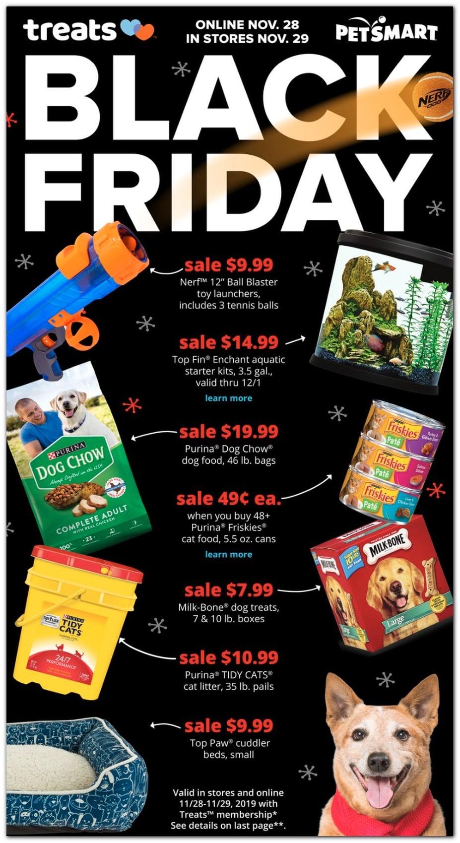 PetSmart Black Friday Ad Sale 2019