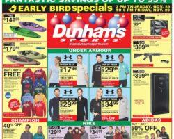 Dunham's Black Friday Ad 2019