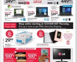 Office Depot Black Friday Ad Sale 2019