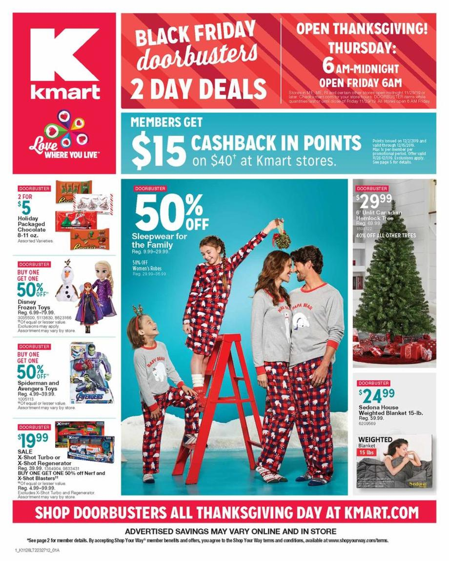 Kmart Black Friday Sale Ad 2019
