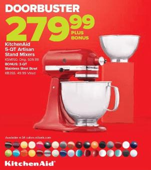 Kitchenaid Mixer Black Friday 2019 Deals