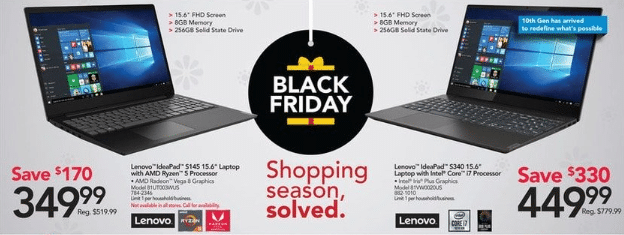 Laptop Black Friday 2020 Deals Get One From 99 99
