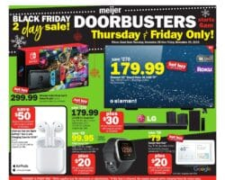 Meijer Black Friday Ad Sale 2019
