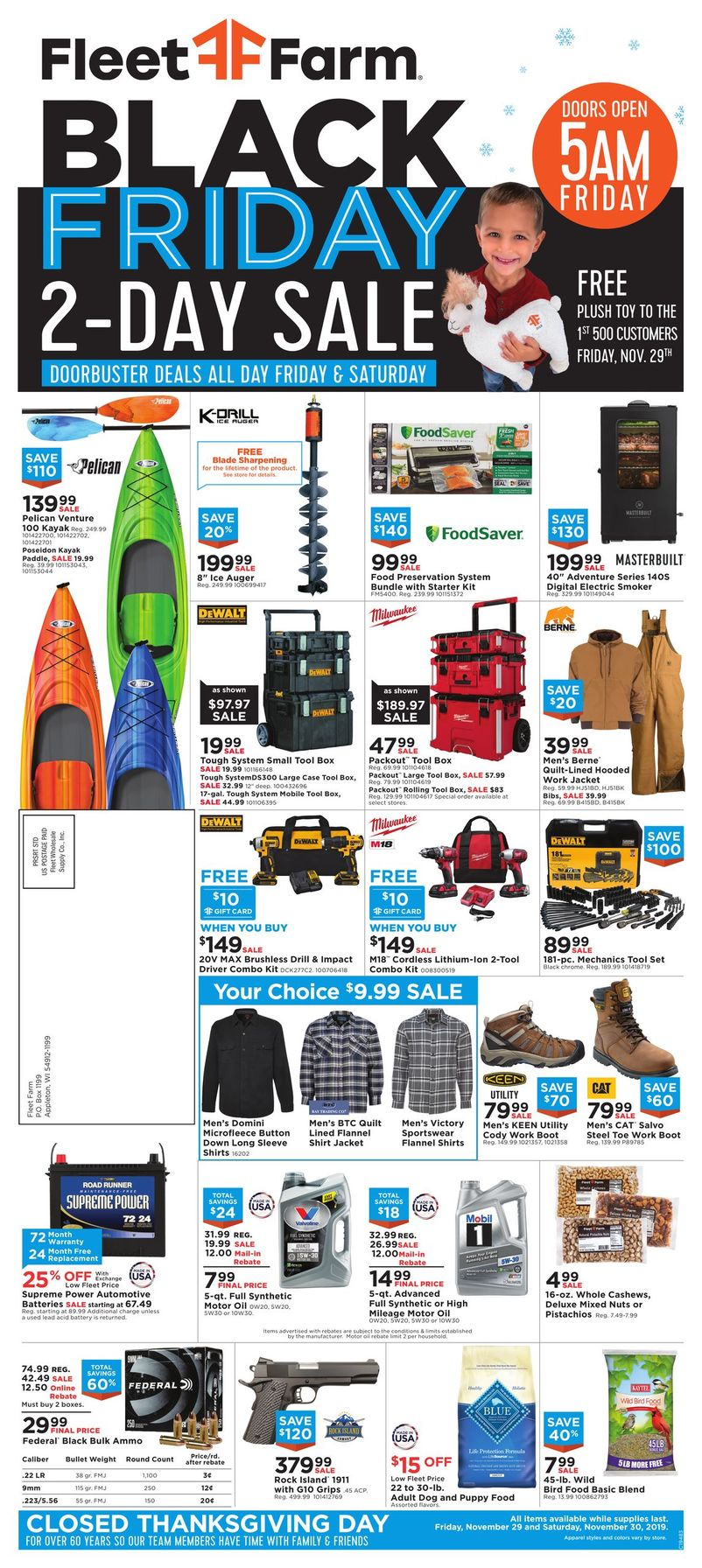 Mills Fleet Farm Black Friday Ad 2019