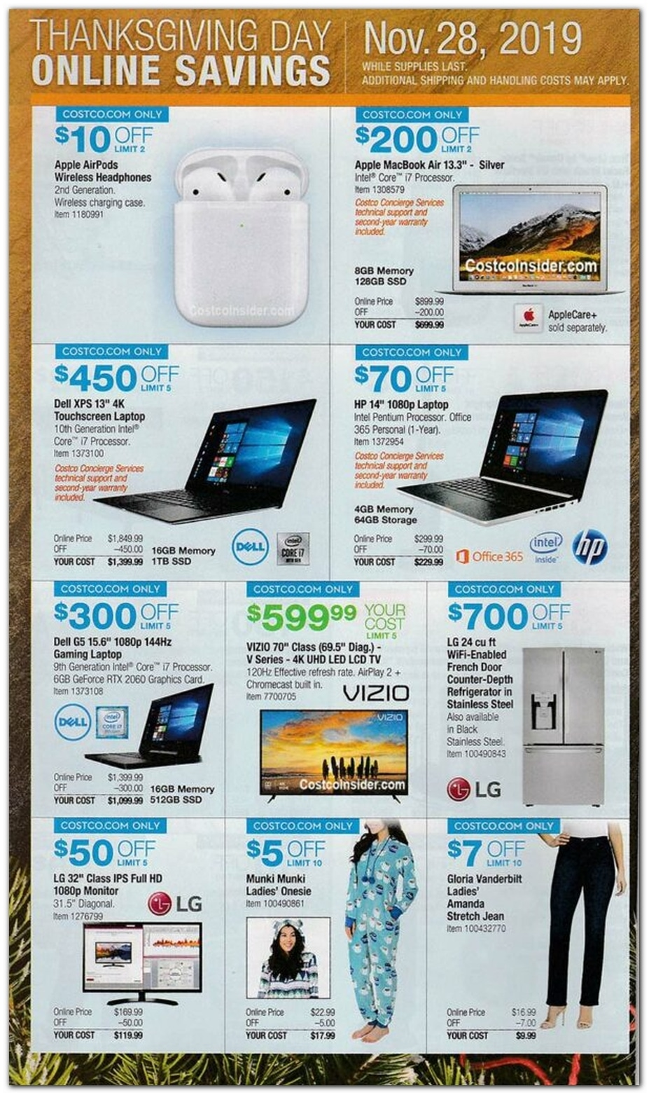 Costco Black Friday Ad 2019