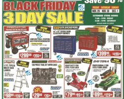 Harbor Freight Black Friday 2019